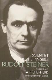 Cover of: Rudolf Steiner | A. P. Shepherd
