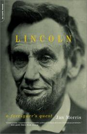 Cover of: Lincoln: a foreigner's quest