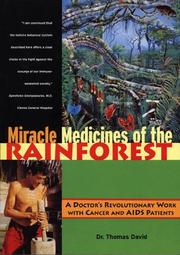 Cover of: Miracle medicines of the rainforest | David, Thomas.