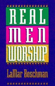Cover of: Real men worship