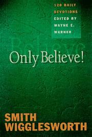 Cover of: Only believe!