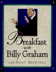 Cover of: Breakfast with Billy Graham: 120 daily readings