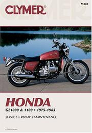 Cover of: Honda, GL1000 & 1100 fours, 1975-1983 | Eric Jorgensen