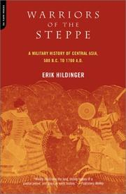 Cover of: Warriors of the Steppe | Erik Hildinger
