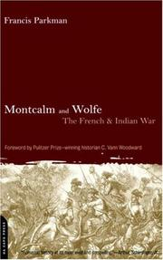 Cover of: Montcalm and Wolfe | Francis Parkman