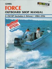 Cover of: Clymer Force outboard shop manual |