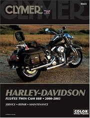 Cover of: Clymer Harley-Davidson: Fls/Fxs Twin Cam 88B  | Clymer Publications