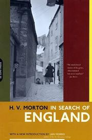 Cover of: In Search of England