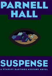 Cover of: Suspense: A Stanley Hastings Mystery Novel