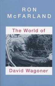 Cover of: The world of David Wagoner