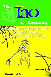 Cover of: The Tao of Gardening