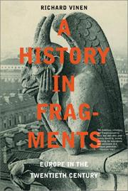 Cover of: A history in fragments