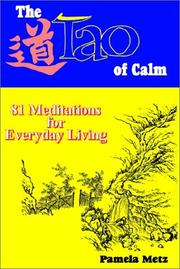 Cover of: The Tao of Calm