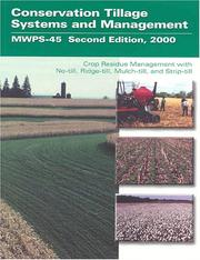 Cover of: Conservation tillage systems and management |