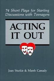 Cover of: Acting it out | Joan Sturkie