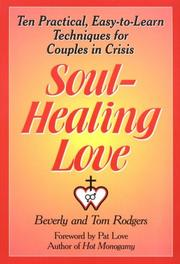 Cover of: Soul-healing love