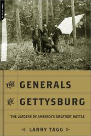 Cover of: The Generals of Gettysburg | Larry Tagg