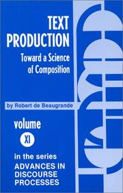 Cover of: Text production