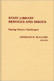 Cover of: State Library Services and Issues
