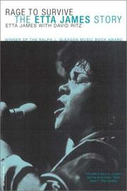Cover of: Rage to Survive: The Etta James Story