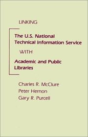 Cover of: Linking the U.S. National Technical Information Service with academic and public libraries