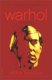 Cover of: Warhol: The Biography