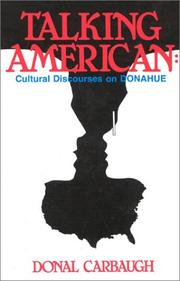 Cover of: Talking American