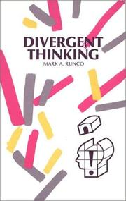 Cover of: Divergent Thinking | Mark A. Runco