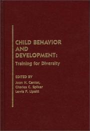 Cover of: Child behavior and development |