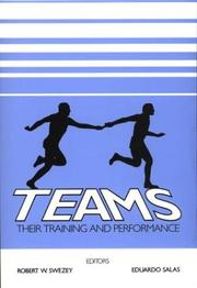 Cover of: Teams |