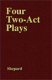 Cover of: 4 Two Act Plays