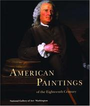 Cover of: American paintings of the eighteenth century