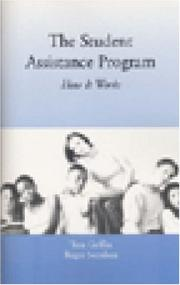 Cover of: The Student Assistance Program | Tom Griffin