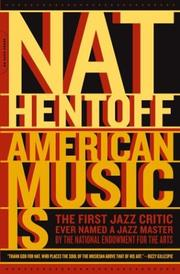 Cover of: American music is