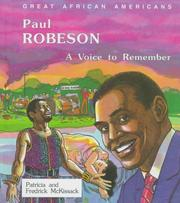 Cover of: Paul Robeson