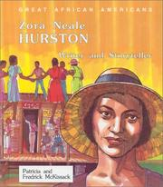 Cover of: Zora Neale Hurston, writer and storyteller