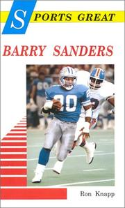 Sports great Barry Sanders by Ron Knapp