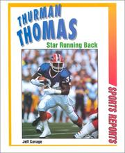 Cover of: Thurman Thomas: star running back