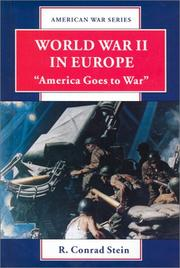 Cover of: World War II in Europe