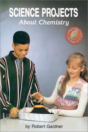 Cover of: Science projects about chemistry