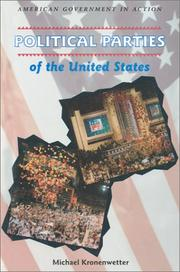 Cover of: Political parties of the United States