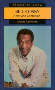 Cover of: Bill Cosby: actor and comedian