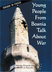 Cover of: Young people from Bosnia talk about war
