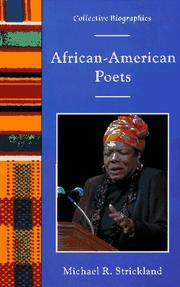 Cover of: African-American Poets | Michael R. Strickland