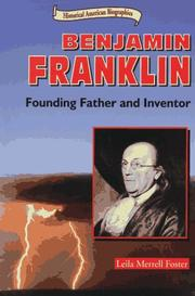 Cover of: Benjamin Franklin, founding father and inventor