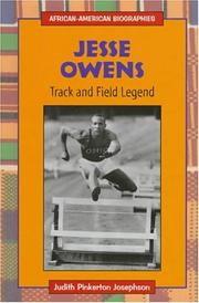 Cover of: Jesse Owens, track and field legend