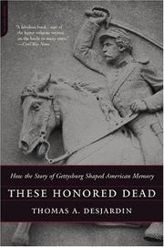 Cover of: These Honored Dead