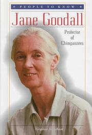 Cover of: Jane Goodall, protector of chimpanzees