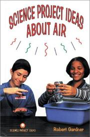Cover of: Science project ideas about air
