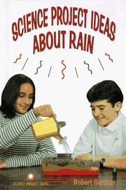 Cover of: Science project ideas about rain